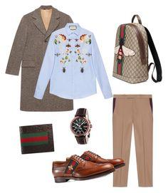"""""""Sin título #8"""" by ricardocamacho on Polyvore featuring Gucci, men's fashion y menswear"""