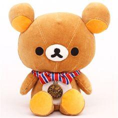 Rilakkuma Factory Brown Bear Plush Toy Paperweight $21.44 http://thingsfromjapan.net/rilakkuma-factory-brown-bear-plush-toy-paperweight/ #rilakkuma plush #san x products #kawaii plush