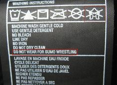 Noted!   43 Hilarious Clothing Labels