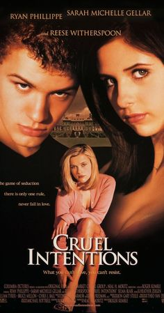 Cruel Intentions (1999)  Why sebastian  was at the top of boy baby names for my son !  love you zachariah !