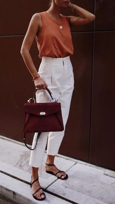 70 The Best Street Style Fashion Ideas Of The Year - Doozy List 70 Die besten Streetstyle-Modeideen des Jahres – Doozy List Looks Street Style, Looks Style, My Style, Mode Outfits, Casual Outfits, Fashion Outfits, Fashion Ideas, Fashion Tips, Summer Work Outfits