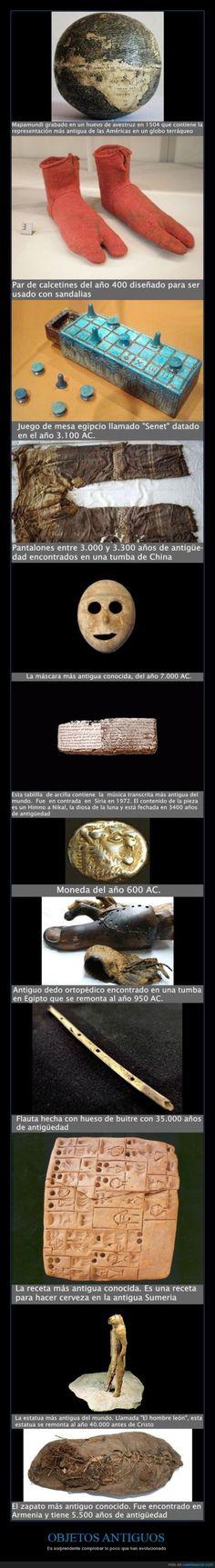 objetos antiguos. números. fechas