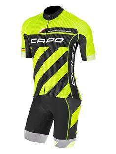 0859326cd5 Capo Tour of California Bib-Short - mikesbikes.com. Pablo Montañez ·  PARADOR-Uniformes Ciclismo