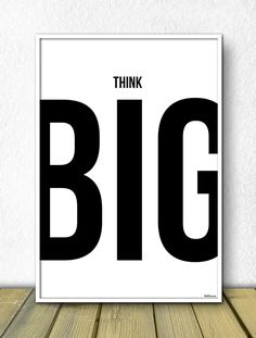 Think big. Whether you're planning a new business or running an existing business: think big, think global. The Words, Words Quotes, Me Quotes, Sayings, Frog Quotes, Short Quotes, Motivational Quotes For Entrepreneurs, Motivational Monday, Ideias Diy