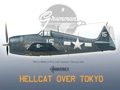 F6F-5 Hellcat Wallpaper by Thierry Dekker (Artwork, No Scale)