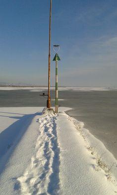 A Velencei-tó télen Fotó: Tihanyi Tamás