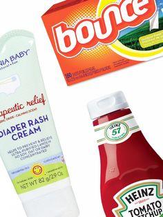 Strange but effective beauty tricks using household items via @byrdiebeauty