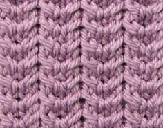 Ravelry: Checkmark Ribs pattern by craftcookie ~ FREE pattern
