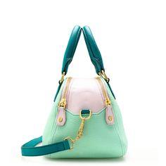 J crew   Biennial Tricolore medium satchel item 26597  $199  #JCrew #satchel