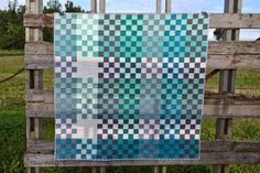 Sew Fresh Quilts: Pretty in Plaid - St. Louis 16 Patch finish!