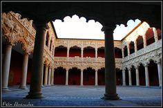 7 Claustro 091  Palacio del Infantado , Guadalajara, Spain  Por Félix Abánades