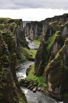 Fjadrargljufur, Iceland #believe #thelocalwheel
