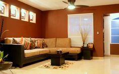 decoracion de salas en colores tierra - Buscar con Google