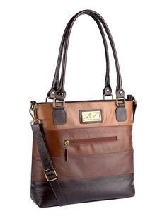 2de64273c Bolsa Alice em couro legítimo café - Enluaze Loja Virtual | Bolsas,  mochilas e pastas