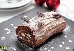 Κορμός με σοκολατένιο γλάσο - gourmed.gr