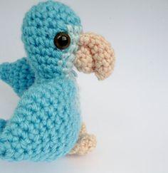 Amigurumi Blue Quaker Parrot Parakeet by CuteWorkshop on Etsy