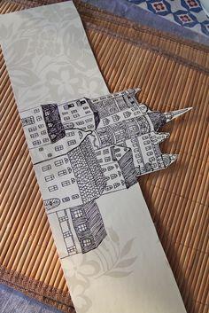 Rebeccas DIY: DIY: Papperslyktan Södermalm * Paper lantern Stockholm homemade paper latern
