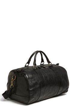 Polo Ralph Lauren Leather Gym Bag | Keaton Row