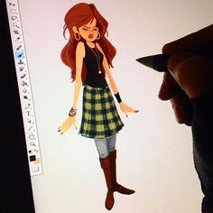 Doing a little character work. The supremely talented @anthonyscotcoffey has been putting his spin on some of my designs too, be sure to check out his great stuff! #characterdesign #visdev #visualdevelopment #visualdesign #conceptart #concept #digital #digitalart #photoshop #wacom #cintiq #cartoon #art #illustration #sketch #doodle #drawing #painting #instadaily #instaart