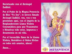 #Metafísica #espiritualidad  #Arcangeles