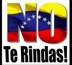 """""""@AmilenerLuna: """"@copipega: """" Dios bendiga a Venezuela!! ... NO TE RINDAS! pic.twitter.com/wNpIreVXOC"""""""""""""""