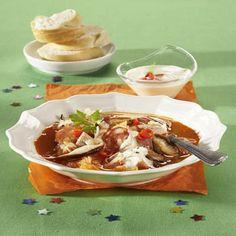 Bouillabaissa - Bujabéza Thai Red Curry, Tacos, Soup, Mexican, Fish, Ethnic Recipes, Soups, Soup Appetizers