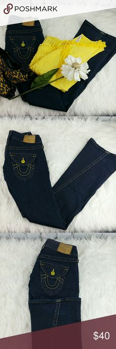 "💞SALE💞 True Religion Premium Denim Awesome True Religion Premium Denim 34"" Inseam 88% Cotton 10% Polyester 2% Spandex Like New True Religion Jeans"