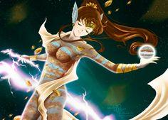 Girl Thunder by Pillara
