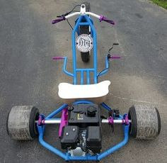 Inflatable Kayak Mods Purchase Your Gas Powered Drift Trike Tricycle Bike Fat Ryder Motorized Big Wheel Today! Dial - Want Extra Savings? Text: SAFER To For Extreme Steals Motorized Big Wheel, Drift Trike Motorized, Gas Powered Drift Trike, Tricycle Bike, Trike Motorcycle, Diy Go Kart, Inflatable Kayak, Mini Bike, Kayaking
