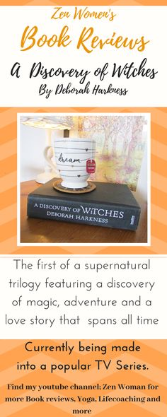 A discovery of Witches, now a TV series, started out as a book, see the blog book review to hear more about why you should read Deborah Harness's bewitching book!   #deborahharkness #bookreviews #vampirebook #discoveryofwitches #adiscoveryofwitches #supernaturalbooks Book Review Blogs, Book Recommendations, Deborah Harkness, A Discovery Of Witches, Vampire Books, Popular Tv Series, Book Reviews, Good Books, All About Time