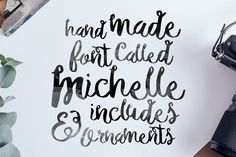 Michelle Font + Bonus by Noe Araujo on Creative Market