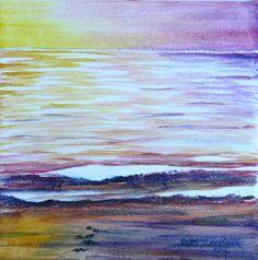 'Evening tide' acrylic on canvas  http://www.ritareadman-artist.tumblr.com