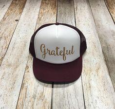 Grateful Trucker Hat. Gorra Personalizadas ... 16c9254a4ea