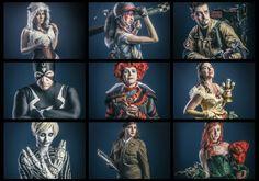 Cosplay characters www.anttikarppinen.com