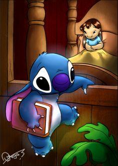 Lilo and Stitch by Omegathree.deviantart.com