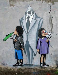 #graffiti #illuminati #drugs #alcohol