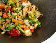 safefood vegetarian stir fry with cashew nuts. Healthy recipe from safefood. All our recipes are nutritionally analysed by our team of experts. #Stirfry #Cashew #Nuts #Dinner #Vegetarian #Healthy