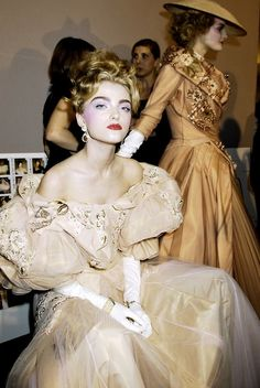 Christian Dior Haute Couture - Backstage