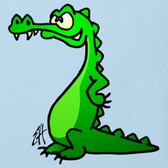 Bilderesultat for krokodille tegning