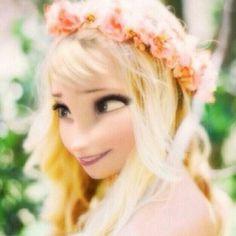 Elsa as a 16 year old. so pretty! Punk Disney, Disney Girls, Disney Art, Disney Style, Disney Love, Disney Frozen, Jelsa, Disney And Dreamworks, Disney Pixar