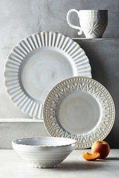 Stratford Dinnerware - anthropologie.com £10 and £7