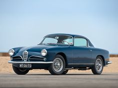 1957 Alfa Romeo 1900 Super Sprint Coupe by Touring | Monterey 2015 | RM Sotheby's