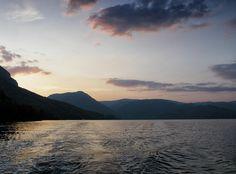 sailing away at sunset #sailing #summer #sunset #photography #seascape