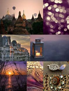 Purple & Gold - Flickr Photo Collage | Flickr - Photo Sharing!