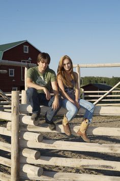 Heartland ty and amy Amy And Ty Heartland, Heartland Seasons, Heartland Quotes, Heartland Ranch, Heartland Tv Show, Heartland Actors, Best Tv Shows, Best Shows Ever, Favorite Tv Shows
