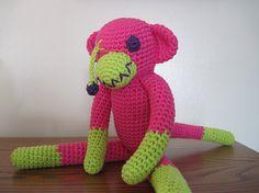 Zombie sock monkey!