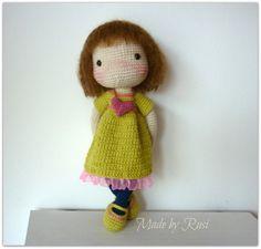 Amigurumi Crochet Doll Stephanie by Rusi Dolls por RusiDolls