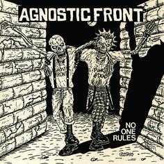 "Radio Raheem Records - AGNOSTIC FRONT - No One Rules LP/7"""