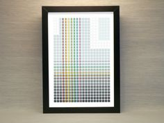 Abstract Architectural Pattern Print