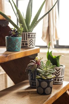 These pots are darling for unique decor!